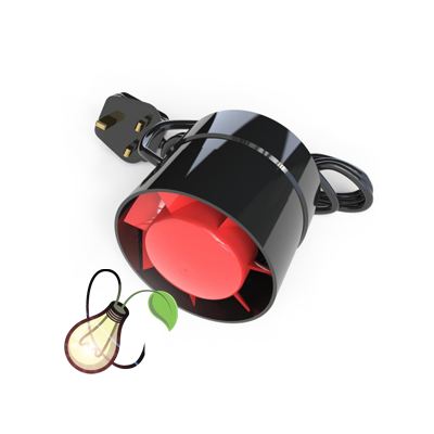 BLACK ORCHID AXIAL-FLO INLINE BOOSTER FAN